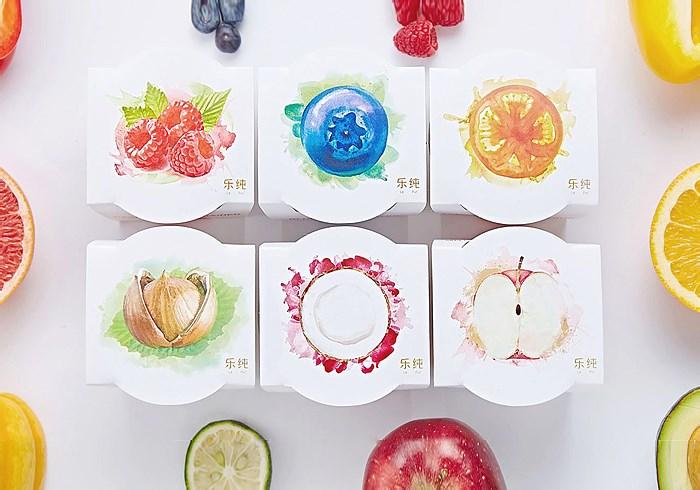 乐纯酸奶品牌全案1.0设计