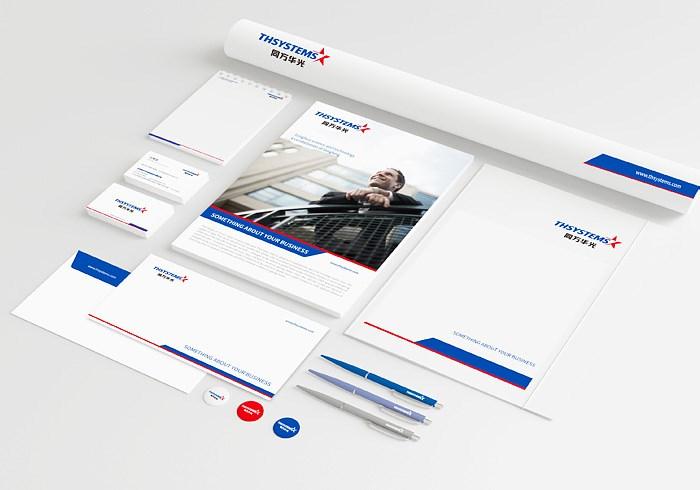 同方华光系统科技品牌形象设计