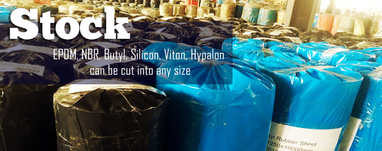 VSK rubber sheet in stock silicon, fkm,csm,cr,IIR,neoprene