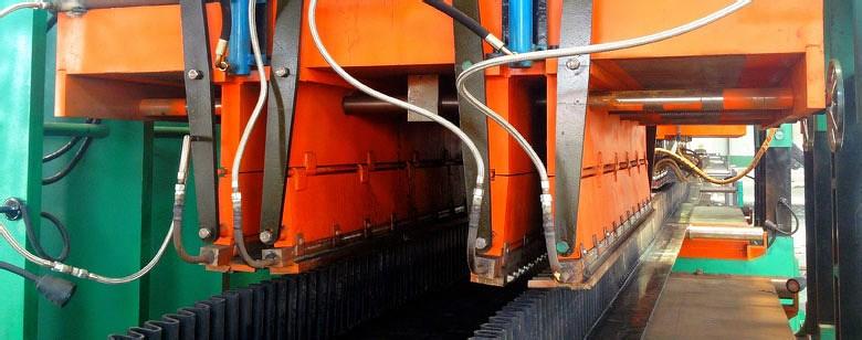 VSK sidewall conveyor belt production facility