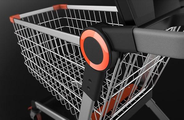 无人超市智能购物车