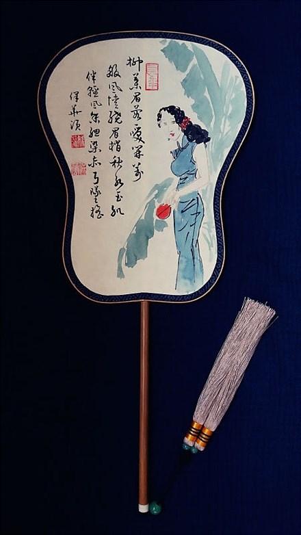 马保华 姚江进 古典宫扇系列