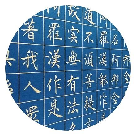 马保华 金刚经局部(蝇头小楷)作品