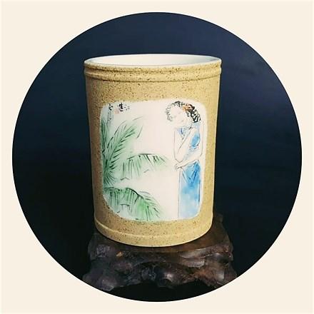 姚江进 磨砂釉陶瓷系列