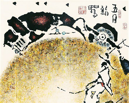 刘山民 五月 180cm×192cm