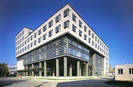中国科学院微电子中心科研办公楼