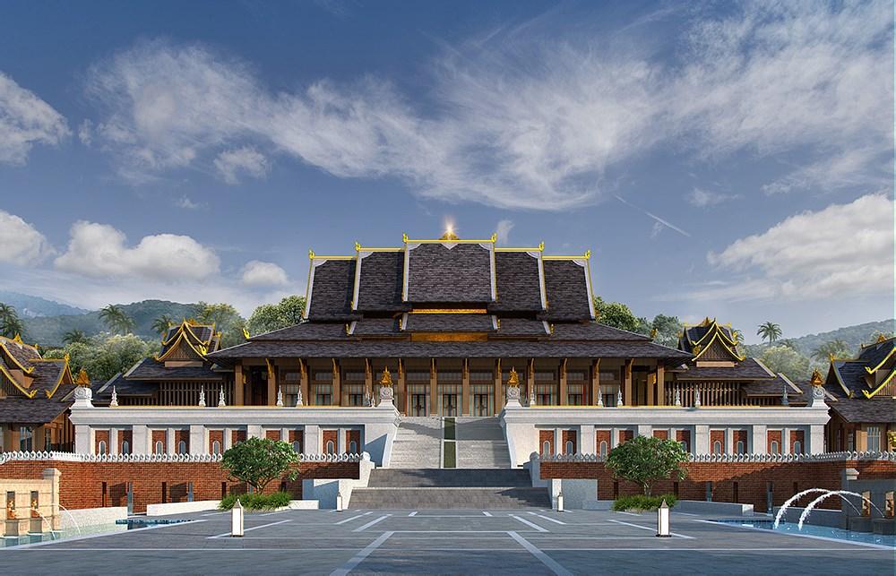 勐泐故宫傣文化旅游小镇