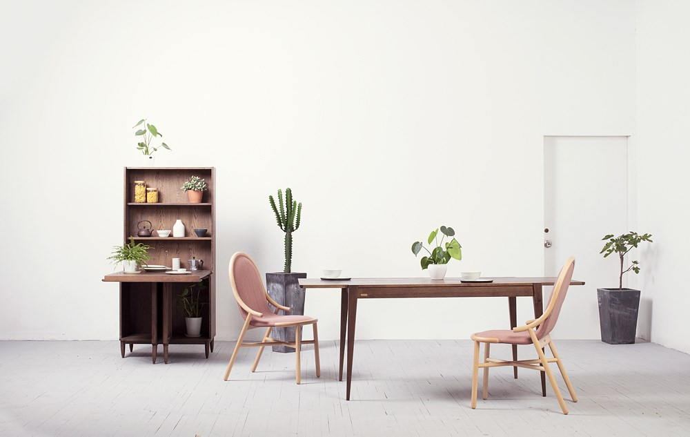 起点椅、阿婆橱柜、森碟桌