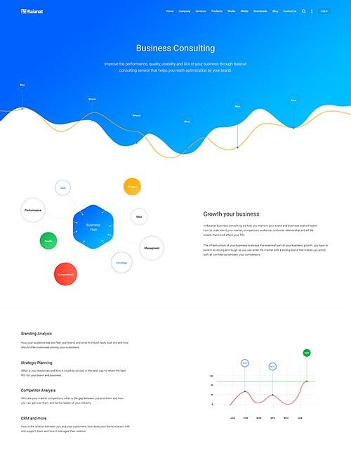 Baianat Website UX/Ui