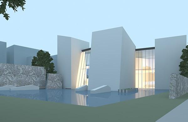 雷迪森巨石温泉体验中心--商业空间设计