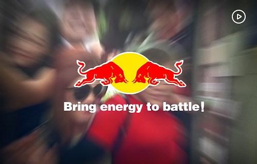 """紅牛""""帶上能量去戰斗""""視頻營銷"""