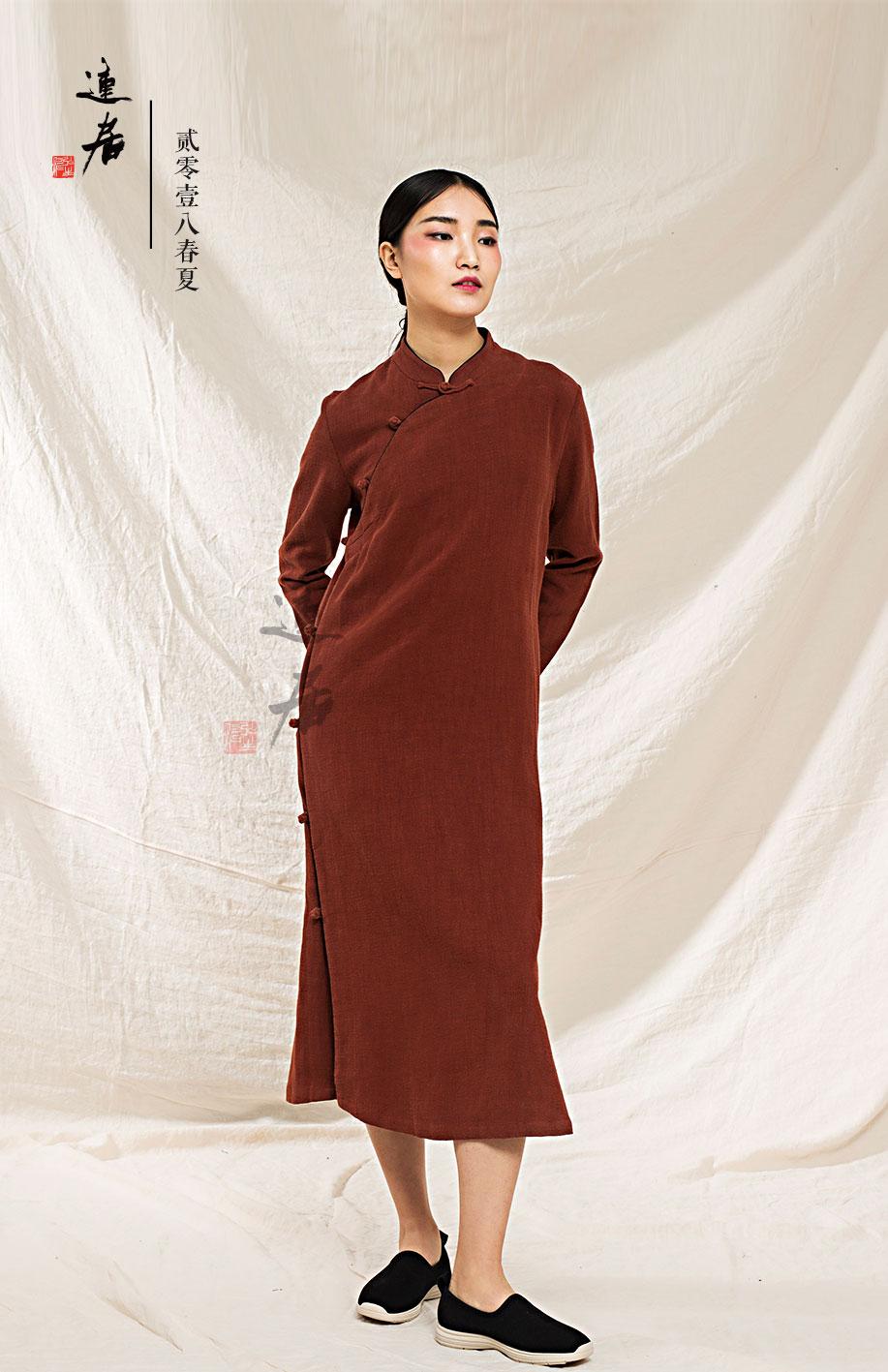 设计款袍服