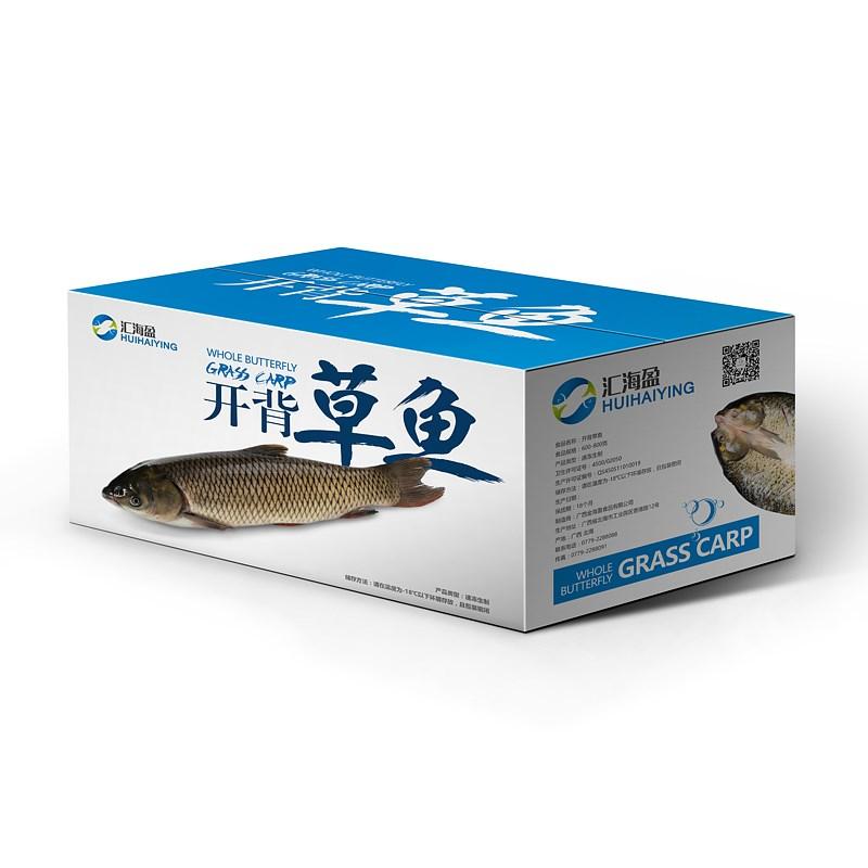 廣西金海盈漁業-海鮮包裝設計
