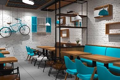 墨小姐(自助鲜水饺)-餐厅空间设计