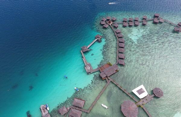 马布岛西巴丹水上屋