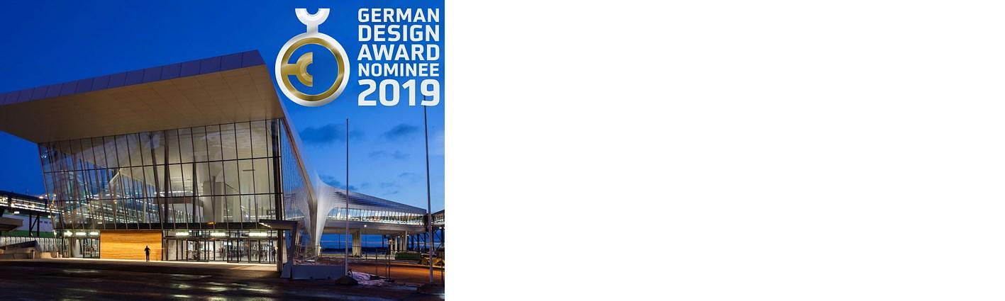 赫尔辛基西港2号码头获得2019年德国设计奖