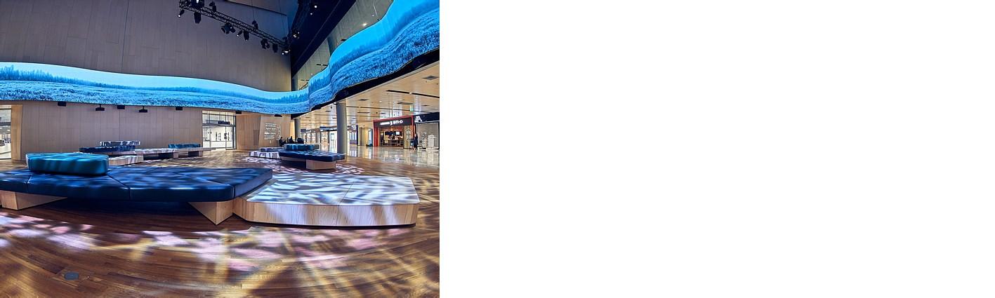 赫尔辛基机场全新Aukio中央广场为长途旅客开放