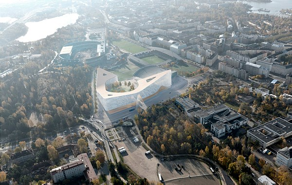赫尔辛基花园冰球馆及多功能综合体