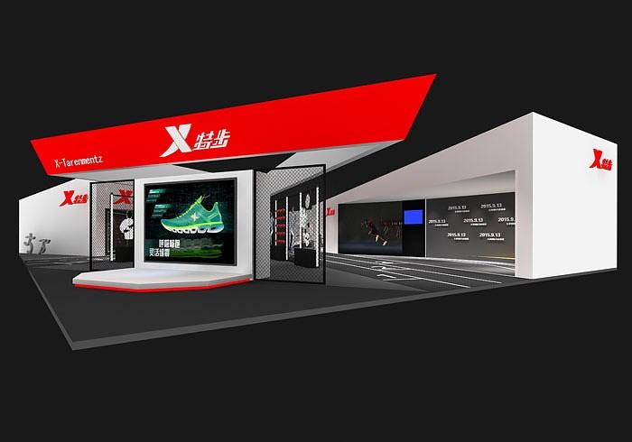 鞋品牌空间展示