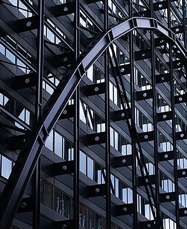 建築遮陽系統--條形簡約