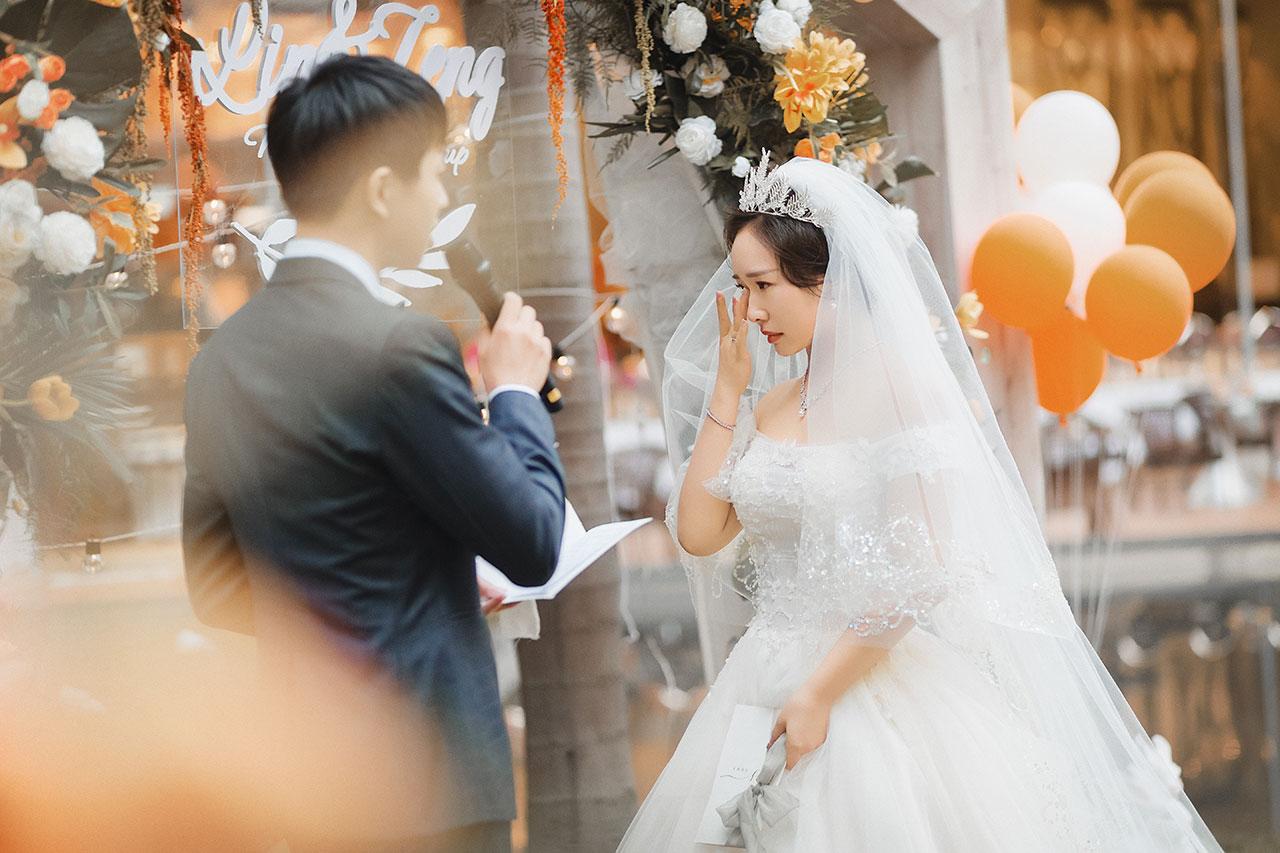 秋日户外婚礼