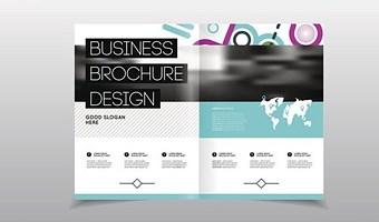 公司宣傳彩頁遵循什么設計原則