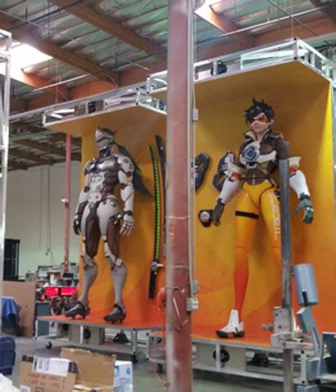 The Making of Overwatch's Oversized Action Figures