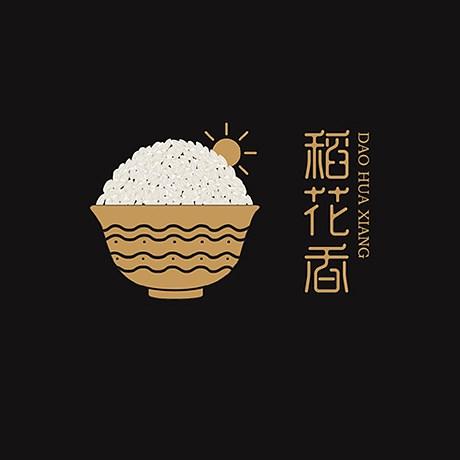 稻花香 大米包裝設計