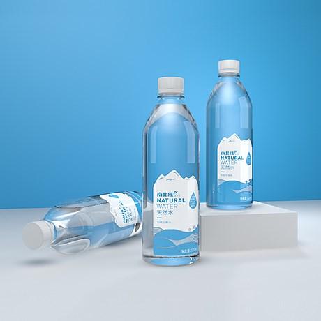 南北缘品牌升级,矿泉水包装设计