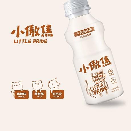 小傲焦乳酸菌饮料包装设计