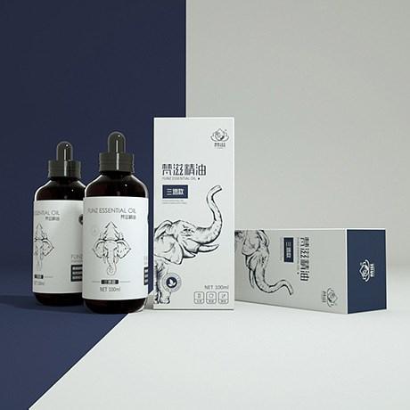 梵滋精油包裝設計