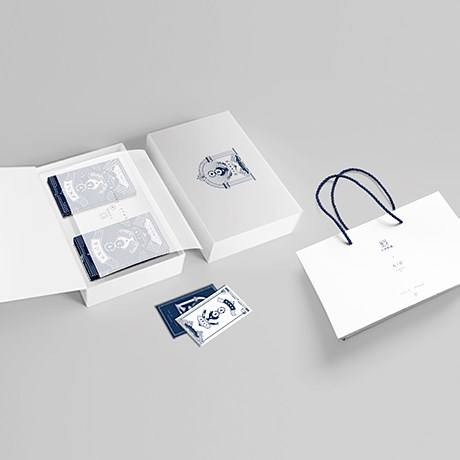 米飯燉魚大米禮盒品牌設計