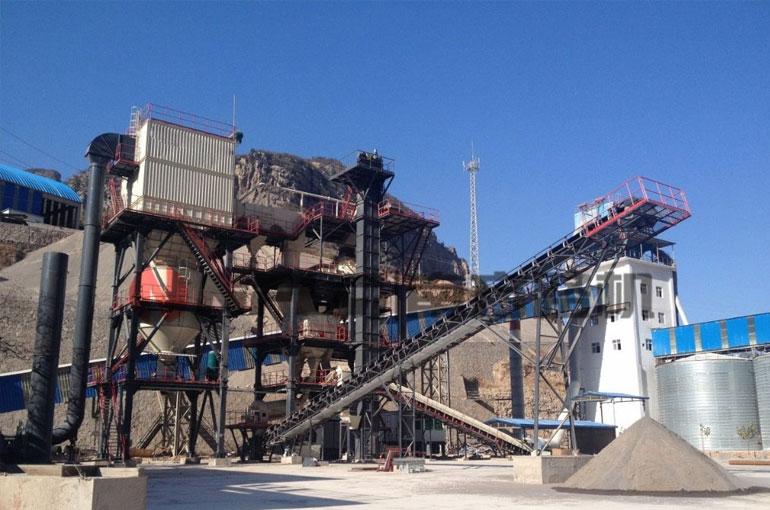 全自動干式制砂生產線