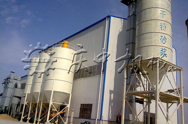 10萬噸預拌砂漿生產線