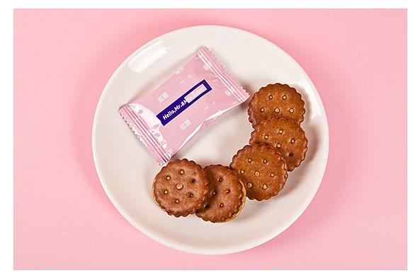 喜饼丨红糖麦芽夹心饼