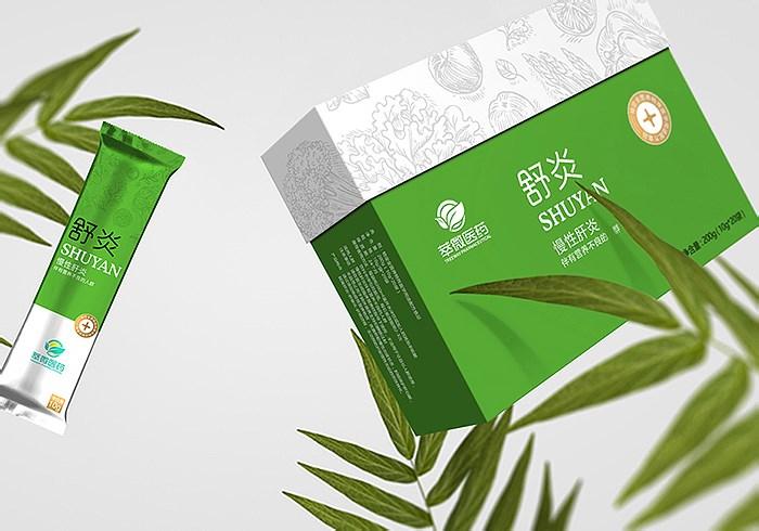 萃微醫藥標志VI及產品包裝設計