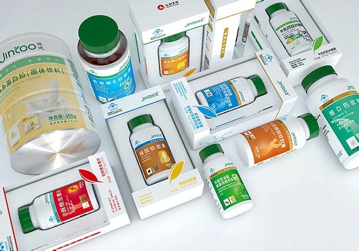 健途系列保健品-醫療醫藥_生物健康_零售_日用快消-產品包裝設計