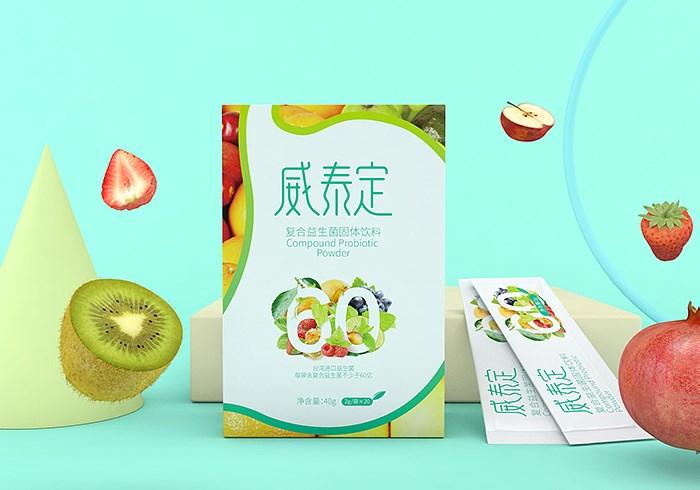 威泰定、克敏夫、復合益生菌系列產品-生物健康_零售_日用快消_食品-創意包裝設計
