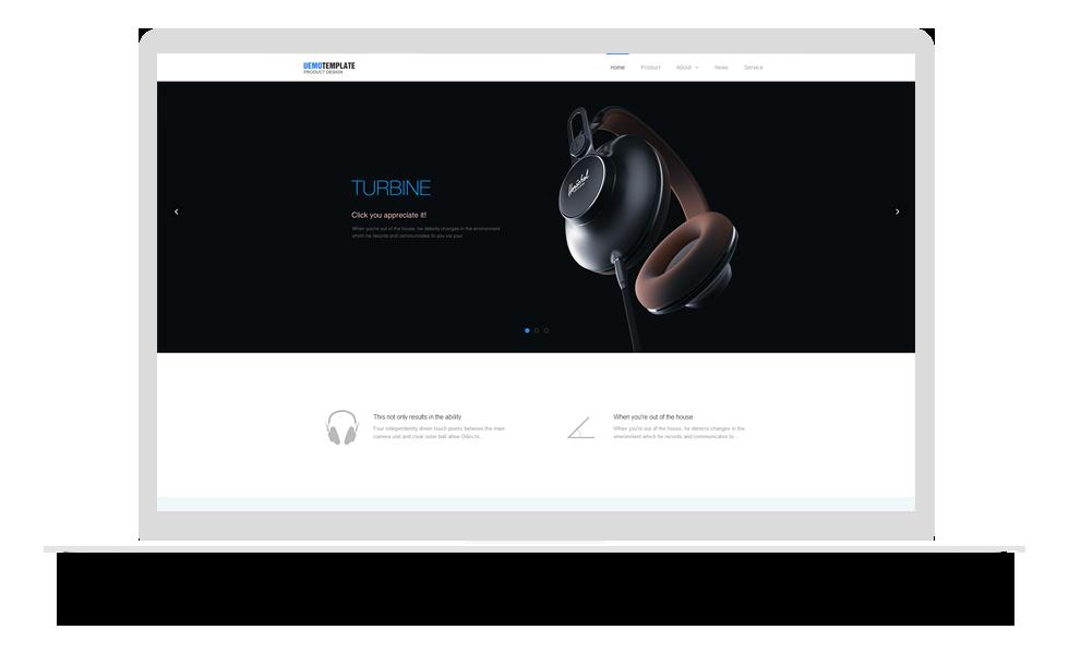 产品设计公司网站模板