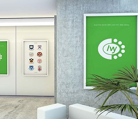 常青藤教育標志/宣傳品/海報設計
