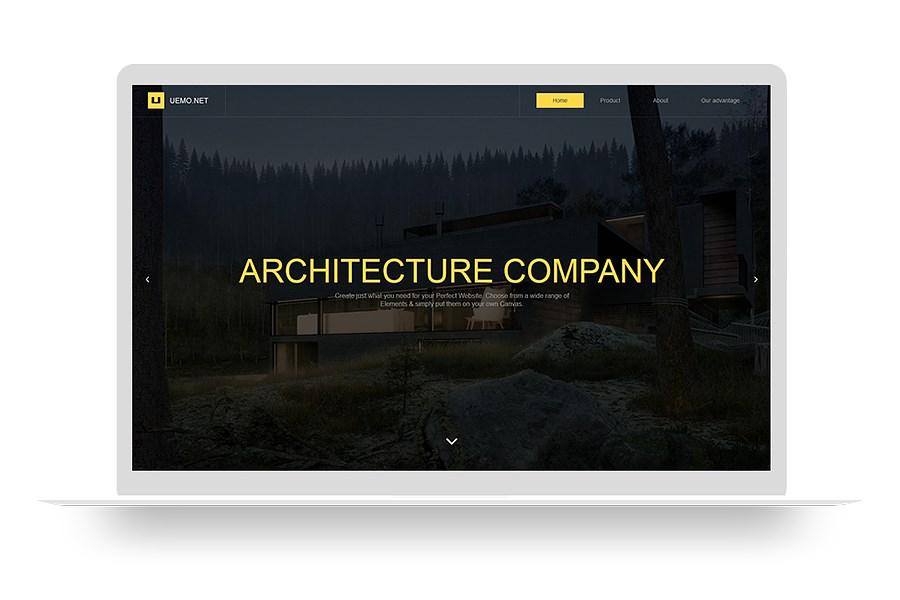 點策建站 建筑行業網站 自適應 高端建站