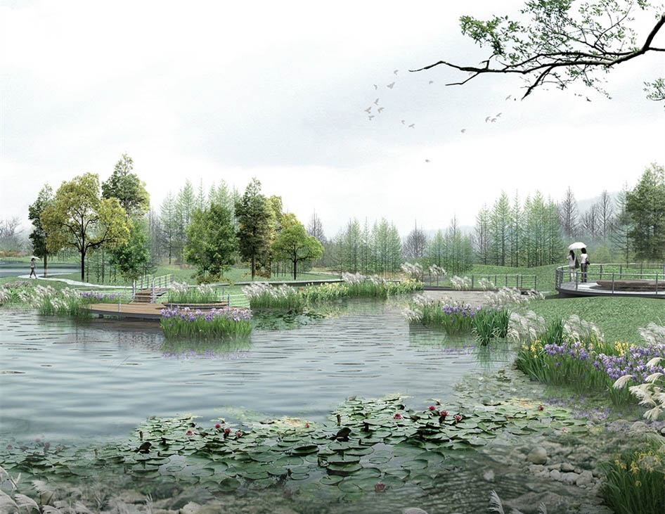 Tongli National Wetland Park Ecological Environment Landscape Design