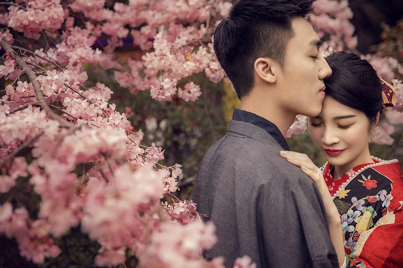 日本旅拍 · 樱花盛开时,愿有你相伴