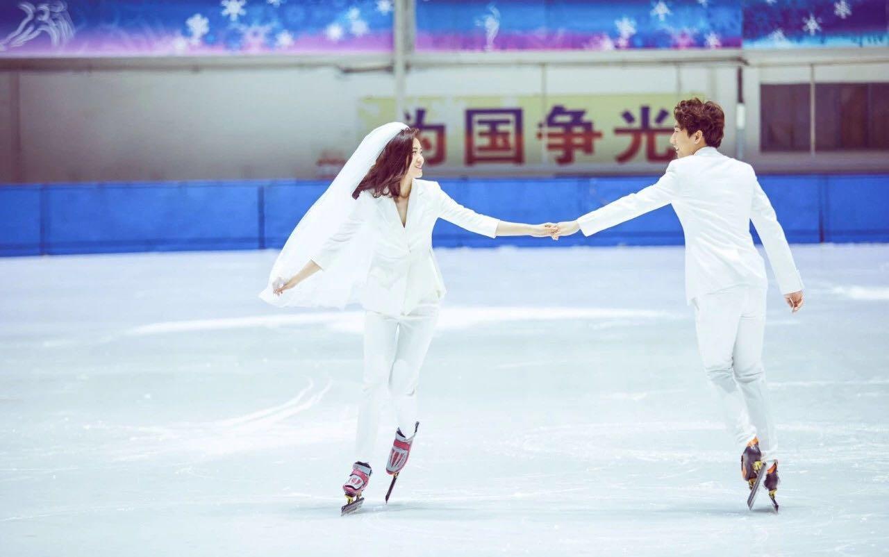 「 冰上情缘 」· 世界冠军韩天宇 & 刘秋宏旅拍预告 | GoldenLove明星合作