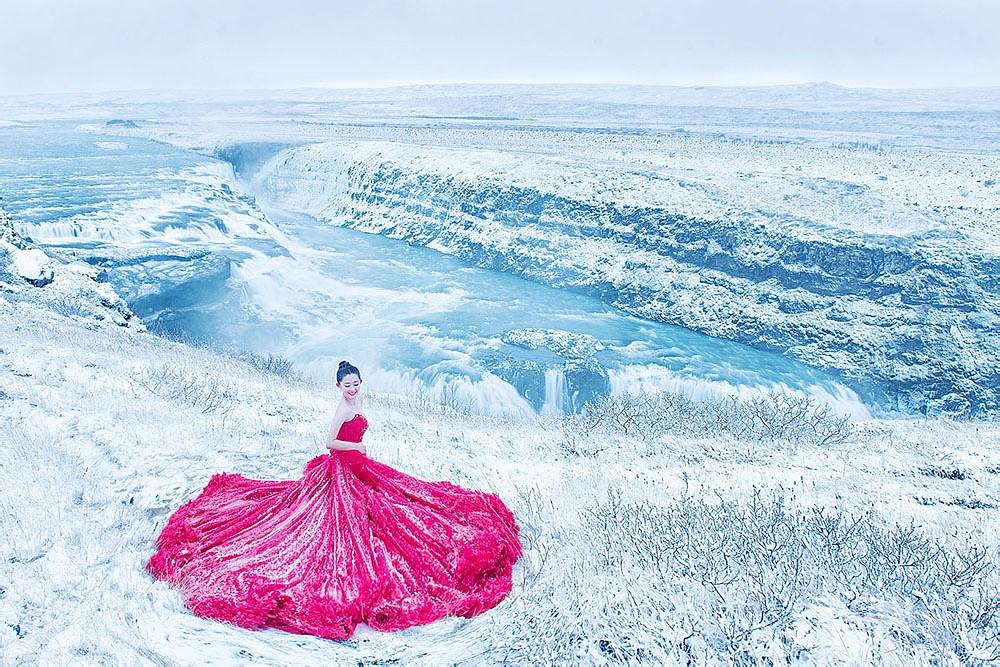 冰岛婚纱摄影作品