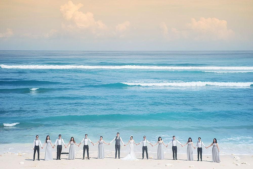 巴厘岛婚礼摄影作品