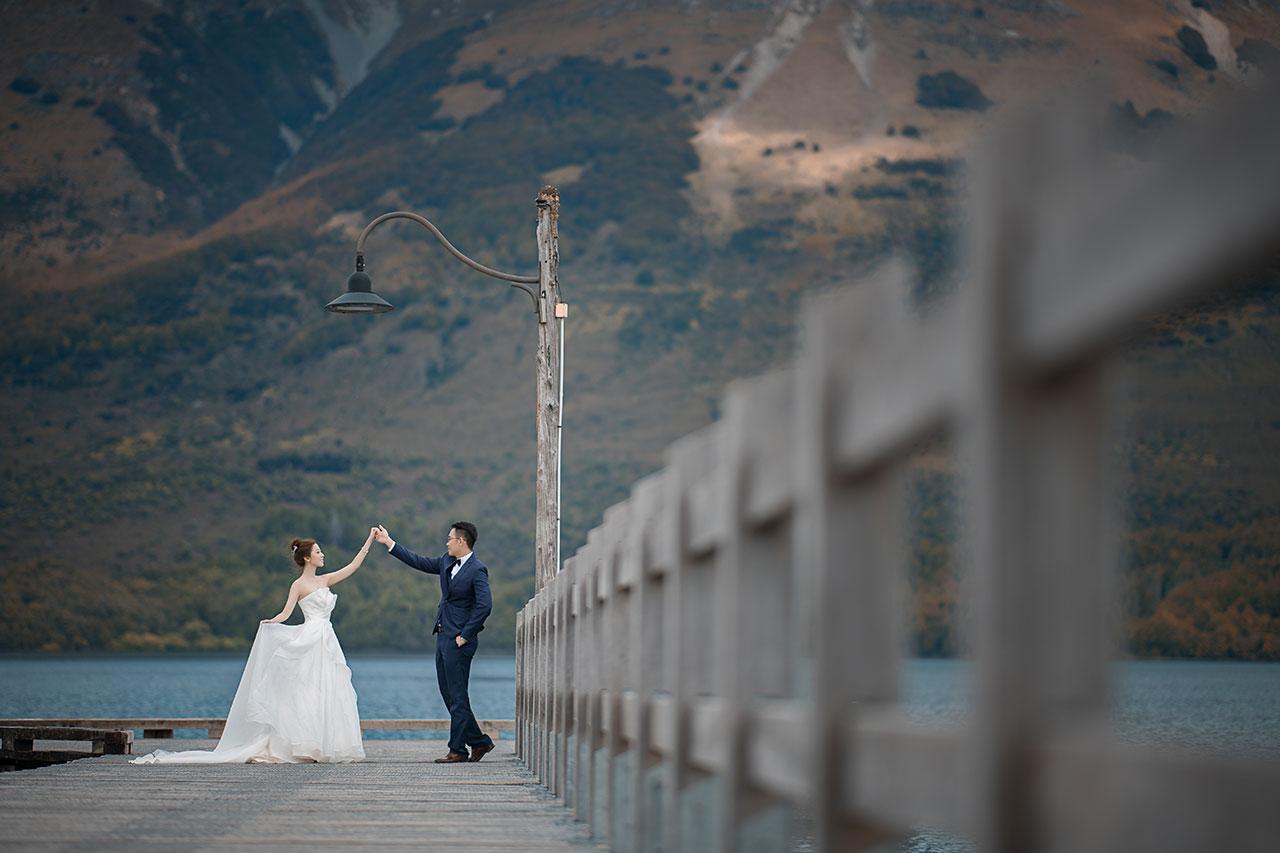 新西蘭婚紗攝影