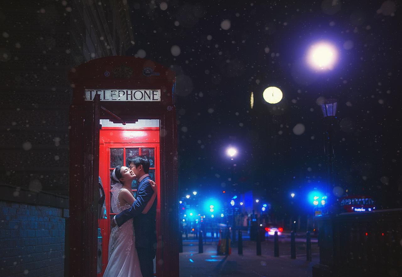 英国婚纱摄影