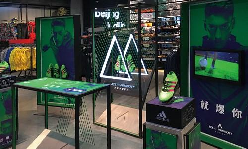 【陳列設計】今年的足球鞋,酷的有點過