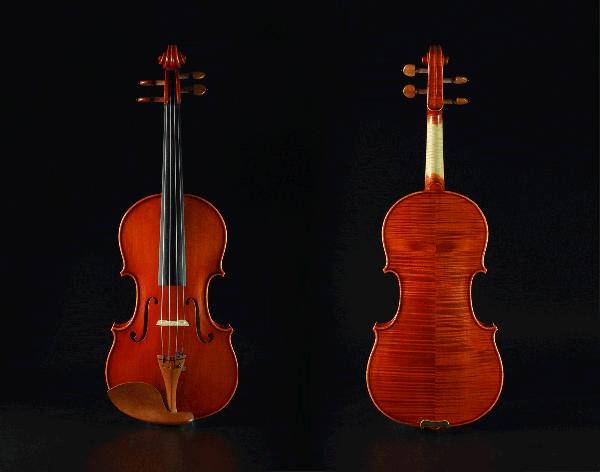意大利现代风格小提琴